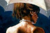 Woman with White Umbrella